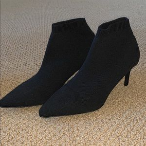 Shoes - Black sock booties